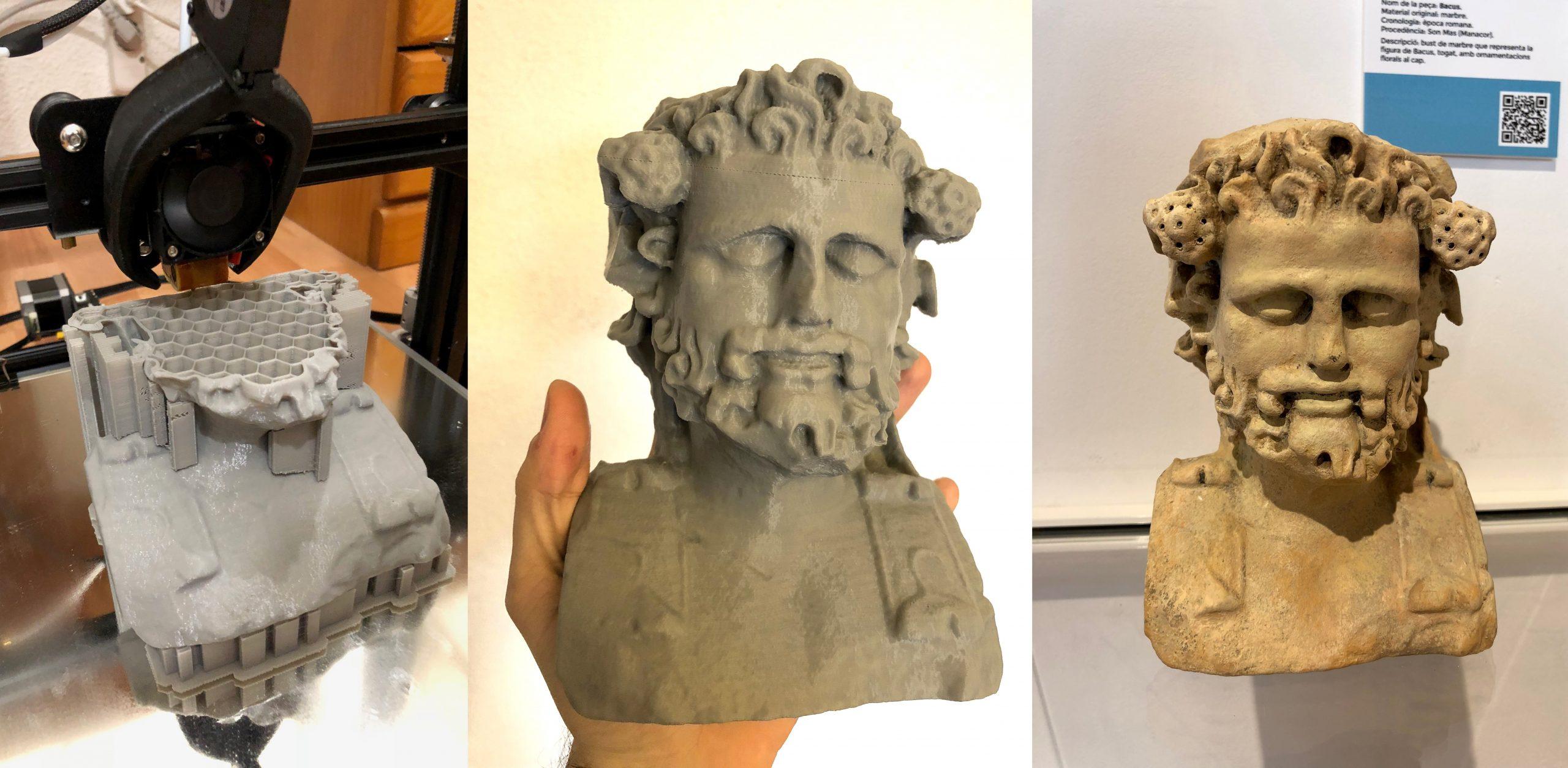 Museums 3D Printing Restorations