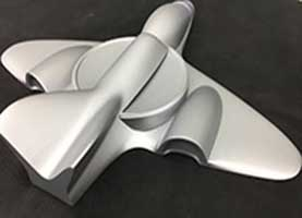 3D Printed Jet Painted SLA