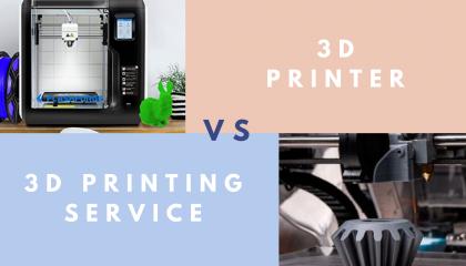 3D Printer Vs 3D Printing Services