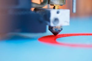 Operating of 3d printing