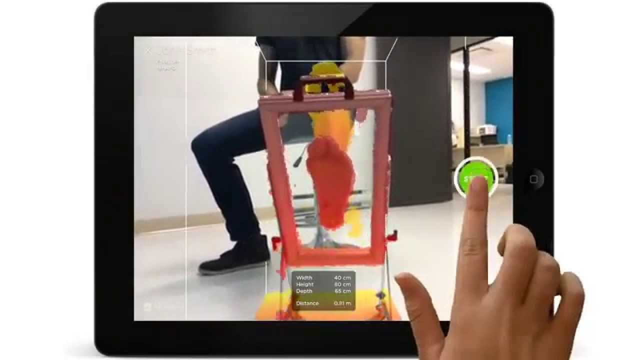 3d scanning with tablet