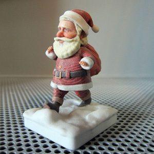 3D printed santa