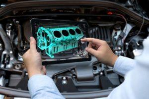 augmented reality car repair