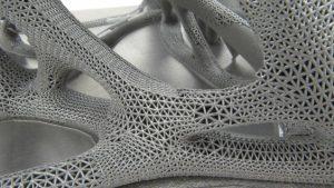 Complex 3d printed model