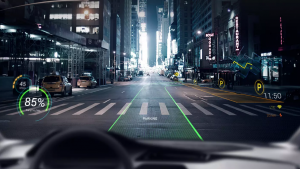 Self Driving with AR